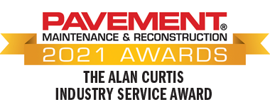The Alan Curtis Industry Service Award